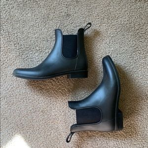 J Crew Chelsea Rain Boots 🥾